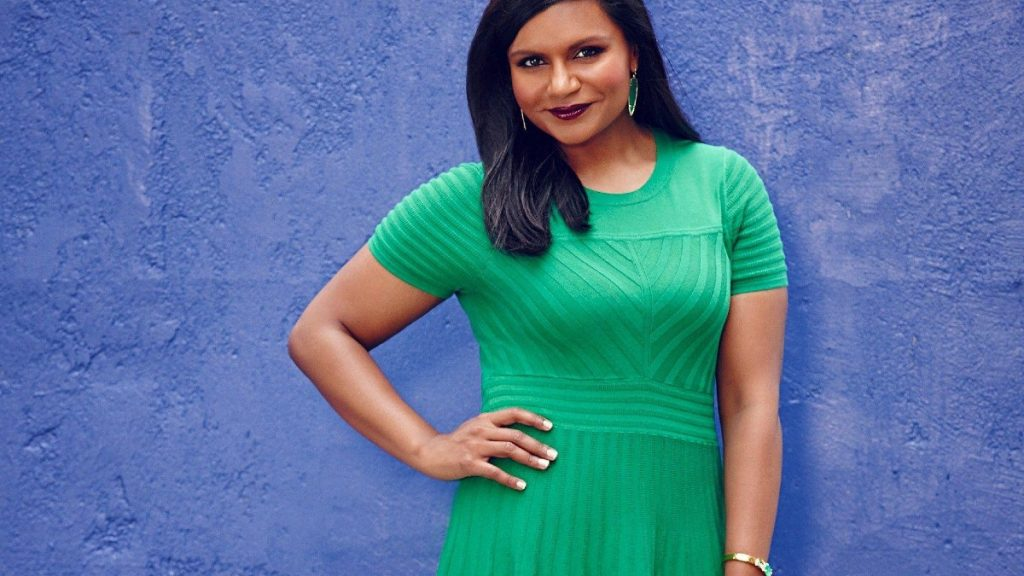 The Office Star Mindy Kaling Celebrates Pride Month With A Rainbow Dress The Red Carpet